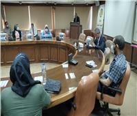 مركز التنمية المحلية بسقارة يحتفل بانتهاء دوراتين تدريبيتين للعاملين بالمحليات
