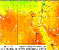 اليوم.. انخفاض درجات الحرارة ورياح نشطة على السواحل الشمالية