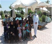 مديرية أمن الإسكندرية تستضيف الأطفال الأيتام بنادى ضباط الشرطة
