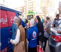 استمرار إقبال المواطنين على مراكز تطعيمات لقاح  كورونا بالغربية