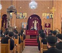 الأنبا مرقس يجتمع بكهنة شبين القناطر