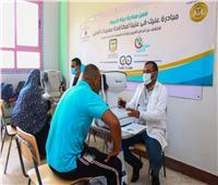«حياة كريمة ومجلس الوزراء » ينظمون قافلة طبية شاملة  بشبين القناطر