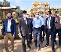 جولة تفقدية لمحافظ الغربية لمتابعة المشروعات في قرية بشبيش بالمحلة