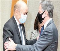 لودريان يلتقي بلينكن.. ومحللون يتعقبون أثر «أزمة الغواصات» على العلاقات الدولية