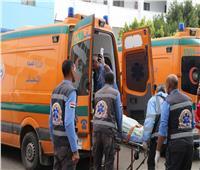 مصرع شخص وإصابة 3 في حادث تصادم بطريق «القطامية السخنة»