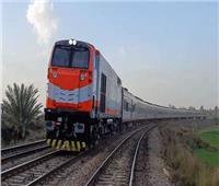 حركة القطارات  تأخيرات بين قليوب والزقازيق والمنصورة