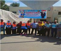جامعة دمنهور تنظم قافلة سكانية بقرية جواد حسني بأبو حمص