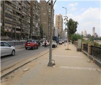 محافظ الجيزة يتفقد أعمال تطوير شارع البحر الأعظم| صور