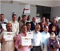 «زراعة المنيا» تكرم المزارعين المتميزين بمركز مغاغة احتفالاً بـ«عيد الفلاح»