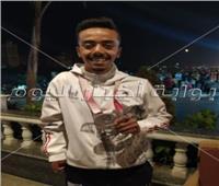 البطل الأوليمبي محمد الزيات عقب تكريم الرئيس السيسي: أشعر بالفخر لما حققته باسم مصر