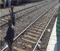 مصرع شاب سقط من قطار خط قليوب - شبين القناطر بالقليوبية