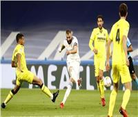 فياريال يفرض التعادل على ريال مدريد في ملعب البرنابيو بالليجا الإسبانية