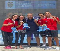 العمراوي يحصد الميدالية السادسة لمصر في بطولة العالم للسباحة بكولومبيا