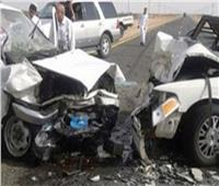 إصابة 5 أشخاص في تصادم 4 سيارات ملاكي ونقل بصحراوي الإسكندرية
