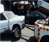 «أوناش المرور» ترفع 46 سيارة ودراجة نارية متهالكة بمختلف محافظات الجمهورية