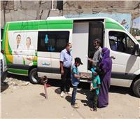 علاج ١١٥٠ مواطنا بالمجان بقرية بالشرقية