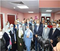 رئيس جامعة عين شمس يشهد عدداً من الافتتاحات بالمستشفى التخصصي