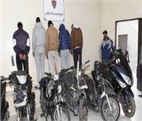 المؤبد والسجن 10 سنوات للصوص الدراجات البخارية بالشرقية