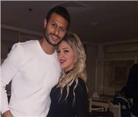 حقيقة انفصال محمد الشناوي عن زوجته منة عصام