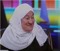 أم محمد: ببقى فرحانه وأنا بتفرج على السيسي ومعايا صوره من وهو في القوات المسلحة