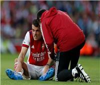 مدرب أرسنال: قلق للغاية بشأن إصابة تشاكا خلال مباراة توتنهام
