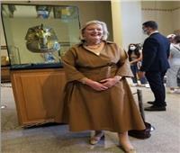 المتحف المصري بالتحرير يستقبل وزيرة الهجرة الهولندية صور