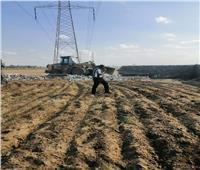 إزالة ١١٢ حالة تعدِ على أملاك الدولة والأراضي الزراعيةبالشرقية