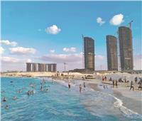 «شاطئ الأحلام» في العلمين الجديدة يشعل «إنستجرام»