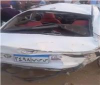 مصرع وإصابة 6 أشخاص في حادث إنقلاب سيارة بطريق «السويس_ القاهرة»