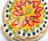 طريقة جديدة لعمل بيتزا الفواكه