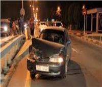 حادث تصادم بدائري الهرم يعطل حركة المرور