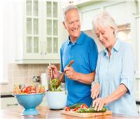 نصائح صحية |  الطعام الصحي في سن الخمسين والستين