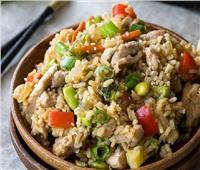أطيب طبخة   لعشاق الارز والخضار وخاصة الباذنجان