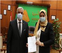 «رباب توفيق» عميدا لطب أسنان جامعة المنوفية