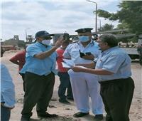 حملات لإزالة التعديات على أملاك لدولة بالإسكندرية