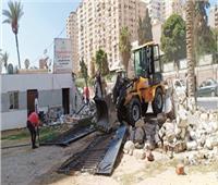 بدء المرحلة الثانية لتطوير طريق مصطفى كامل بالإسكندرية بتكلفة 20 مليون جنيه
