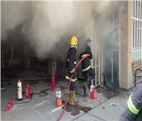 السيطرة على حريق نشب بأحد المطاعم على الكورنيش بالإسكندرية