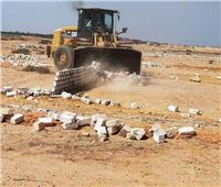في اليوم الرابع عشر للموجه الـ ١٨.. إزالة ١١٠ حالات تعدي على أملاك الدولة وأراض زراعية
