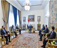 السيسييؤكد على ضرورة سحب كافة القوات الأجنبية من ليبيا