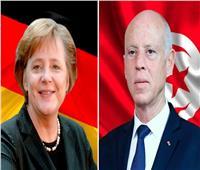 الرئيس التونسي لميركل: نحرص على تطبيق القانون وفرض احترامه على الجميع