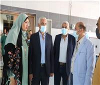 رئيس جامعة المنوفية يتفقد استعدادات كلية طب الأسنان لاستقبال العام الدراسي الجديد