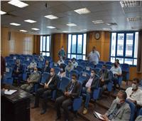 محافظ المنيا يتابع نسب تنفيذ مشروعات «حياة كريمة»