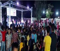 تفاعل الجمهور بختام فعاليات المسرح المتنقل بقرية بني عبيد في المنيا