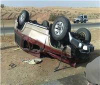 إصابة شقيقين في حادث انقلاب سيارة بالمنيا