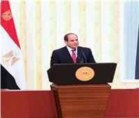 الرئيس السيسي: عدم التدخل في أعمال القضاء قاعدة ذهبية لا نحيد عنها