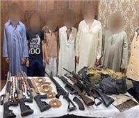 ضبط 99 تاجر مخدرات بأسلحة نارية في حملة أمنية بالجيزة