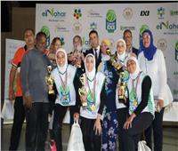 القاهرة تحصد المركز الأول ببطولة كرة السلة لضعاف السمع بنات بالأسمرات