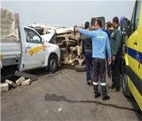 مصرع عامل في حادث تصادم في المنيا