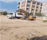 إزالة مخالفة تغيير وحدة من سكني لتجاري بمنشأة القناطر