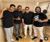 مصطفى حجاج وعنبه في عمل جديد   فيديو وصور